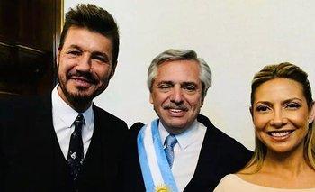 Tinelli y un fuerte mensaje de apoyo a Alberto | Alberto presidente