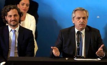 Cafiero adelantó los primeros proyectos de ley de Alberto | Alberto presidente