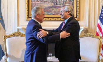 Alberto Fernández almorzó con un enviado de EE.UU. | Alberto presidente