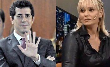 Romina Manguel celebró un chiste de Wado de Pedro | En redes sociales