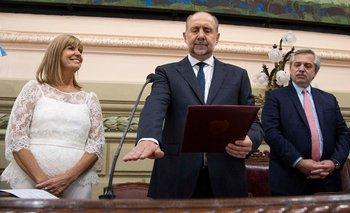 Con la presencia de Alberto, Perotti asumió como gobernador | Santa fe