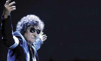 Ovacionaron a Alberto en un recital de Charly García | Luna park