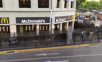 McDonald's, vallado por el Día del Hincha de Boca   Boca juniors