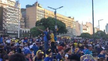 La Policía reprimió a los hinchas de Boca que celebran su día   Ciudad