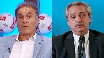 Ruggeri, indignado por los festejos en la asunción de Alberto   Televisión