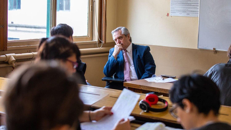 Presidente y profesor de Derecho al mismo tiempo — Alberto Fernández