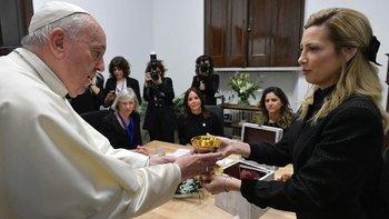 Fabiola Yáñez bromeó con el Papa: ¿Viene a la Argentina? | Vaticano