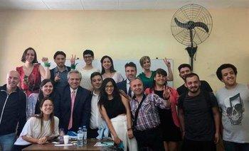 El emocionante relato de un alumno de Alberto Fernández | Alberto presidente