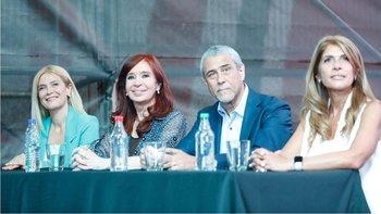 Cristina pidió discutir la matriz económica y elogió a Alberto   Cristina kirchner