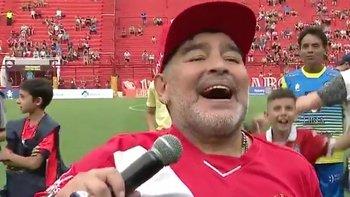 """Maradona con todo contra los macristas: """"Que se jodan""""   Diego armando maradona"""