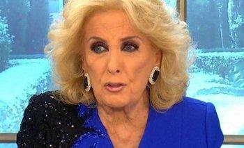 El inesperado momento que vivió Mirtha Legrand al aire   Televisión