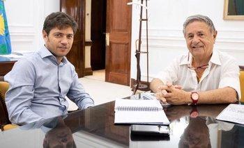 Cumbre entre Kicillof y Duhalde por la crisis productiva  | Crisis económica