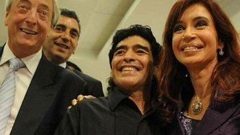 Maradona habló de Cristina y quiere juntarse con ella | El apoyo del diez