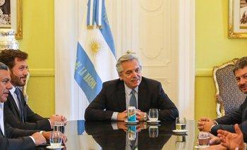 Alberto se reunió con el presidente de la Conmebol | Copa américa 2020