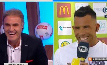 ¿Carlos Tévez al 'Bailando' de Tinelli? | Televisión