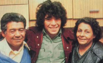 Maradona se quebró al hablar de Doña Tota y Don Diego | Tyc sports