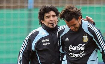 La anécdota de Maradona adentro de un ropero en la Selección   Tyc sports