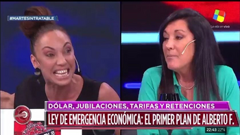 Tremendo cruce entre Ernestina Pais y una senadora PRO | Intratables