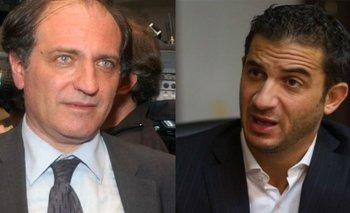Hecker y Tombolini, presidente y vice del Banco Nación | Banco nación