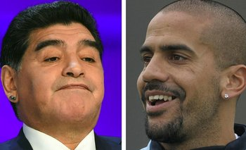 Juan Sebastián Verón liquidó a Diego Maradona | Diego maradona