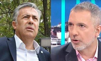 Alfredo Cornejo insultó a Pablo Duggan al aire | Emergencia pública