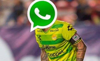 Arquero argentino fue echado por WhatsApp y estalló de furia | Fútbol