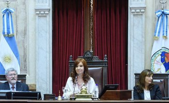 Fuerte cruce de Cristina Kirchner con una senadora radical | Senado