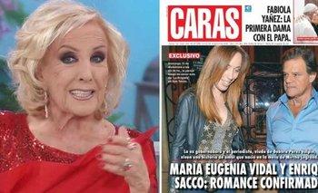 Mirtha reveló detalles del noviazgo de Vidal y Sacco | La noche de mirtha
