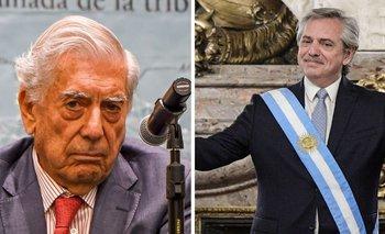 Vargas Llosa atacó a Alberto Fernández y el peronismo | Mario vargas llosa