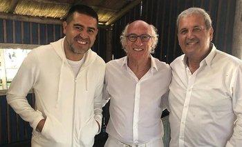 Así fue el reencuentro entre Riquelme y Bianchi | Se casó bianch