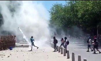 Represión, heridos y 16 detenidos en la marcha antiminera | Minería