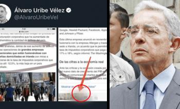 Álvaro Uribe compartió imágenes pornográficas en Twitter | Twitter