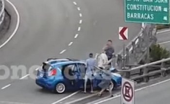 Chocaron en la Autopista 25 de Mayo y descartaron un arma | Buenos aires