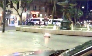 El grito peronista detrás de la explosión en el centro  | Policía de la ciudad