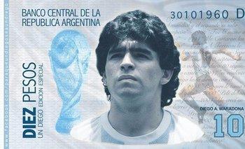 ¿Será un billete de Maradona la salvación para la economía? | Diego maradona