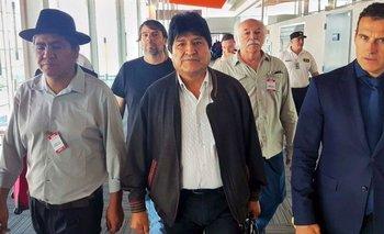 Evo Morales participa de la marcha de las Madres de Plaza de Mayo | Golpe en bolivia