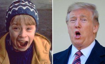 Donald Trump recordó su aparición en Mi pobre angelito 2 | Fiestas de fin de año