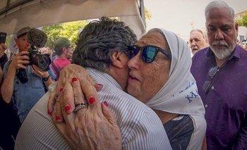 Evo participó de la marcha de los jueves | Evo en argentina