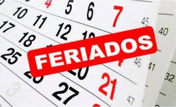 ¡Atención! Así será el calendario de feriados 2020 | Feriados