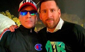 Lionel Messi bailo al ritmo de Damas Gratis en Uruguay | Lionel messi