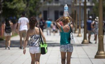 Infierno de temperatura: a qué hora llega el alivio   Clima