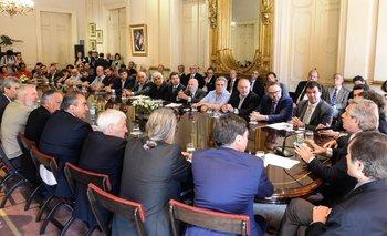 Respaldo al Gobierno para la negociación de la deuda | Emergencia pública