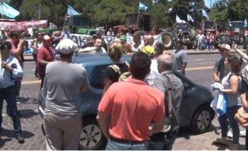 Ruralistas golpearon a un hombre que repudió la protesta contra las retenciones | Campo
