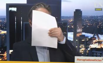Un periodista de La Nación lloró en vivo en su programa   Medios