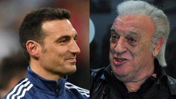 La extraña frase del 'Coco' Basile sobre Lionel Scaloni   Fútbol