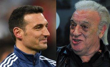 La extraña frase del 'Coco' Basile sobre Lionel Scaloni | Fútbol