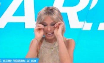 La despedida de Mariana Fabbiani de Canal 13 en medio del llanto   Mariana fabbiani