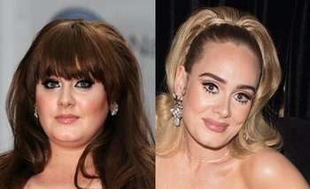 ¡Impresionante! La increíble transformación de Adele   Música