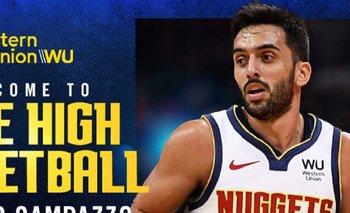 NBA: presentaron a Campazzo en Denver Nuggets con un error insólito | Básquet