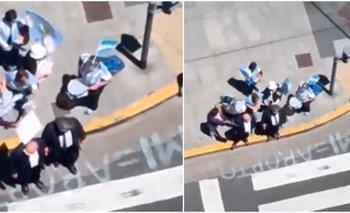 """Manifestantes """"provida"""" increparon a diputado: """"Tenían una tijera""""   Congreso"""